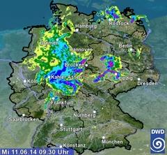 Straßenwetter Hessen