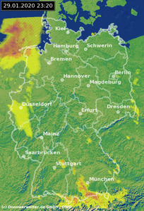 Wetterradar Erfurt