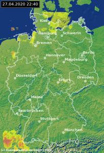 Wettervorhersage Homburg Saar