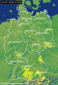 Wettervorhersage Freiburg