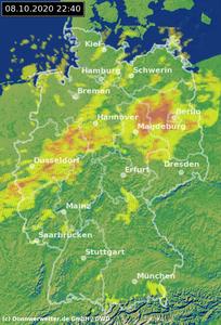 Donnerwetter Radar