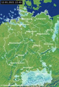 Wetterradar Stuttgart