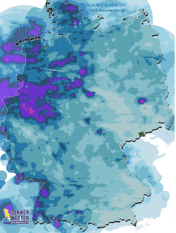 Regenradar Deutschland Aktuell