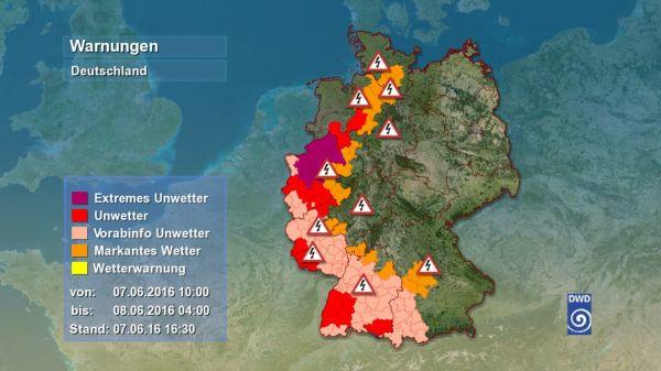 Unwetterzentrale Niedersachsen Aktuell