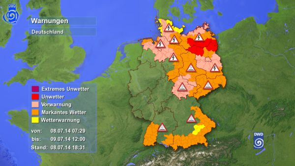 Unwetter In Mecklenburg Vorpommern